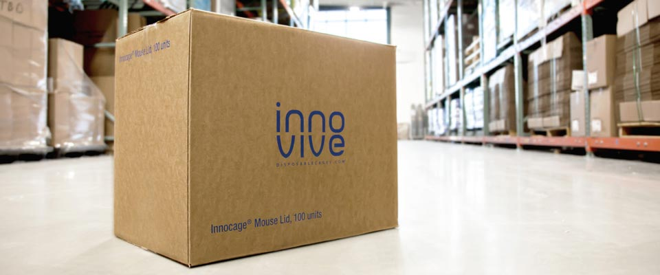 Innovive Mouse Caging Logistics